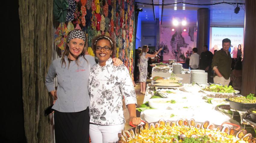 As chefs Clau Silva e Luiza Hoffmann