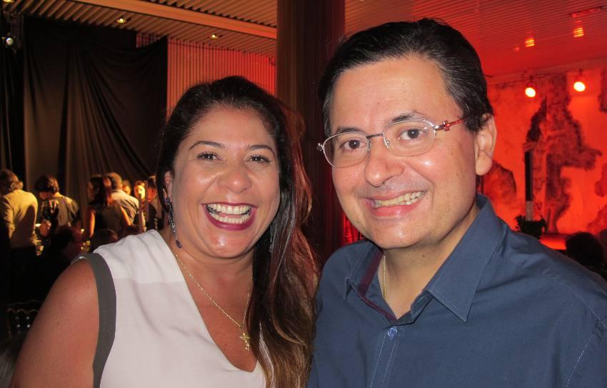 Luciana Hazin e Antônio Campos
