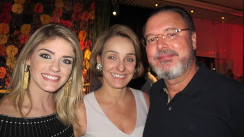 Mariana, Cláudia e Eduardo Monteiro