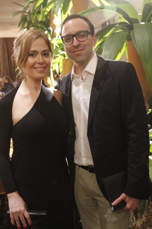 Flávia Azevedo e Eduardo Salazar. Crédito: Ricardo Fernandes / DP