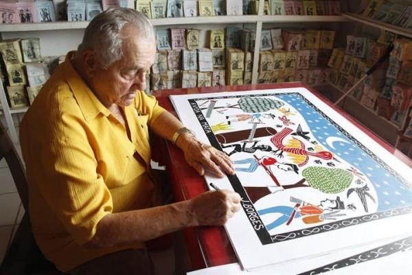 J. Borges - Crédito: Reprodução/caixacultural.com.br