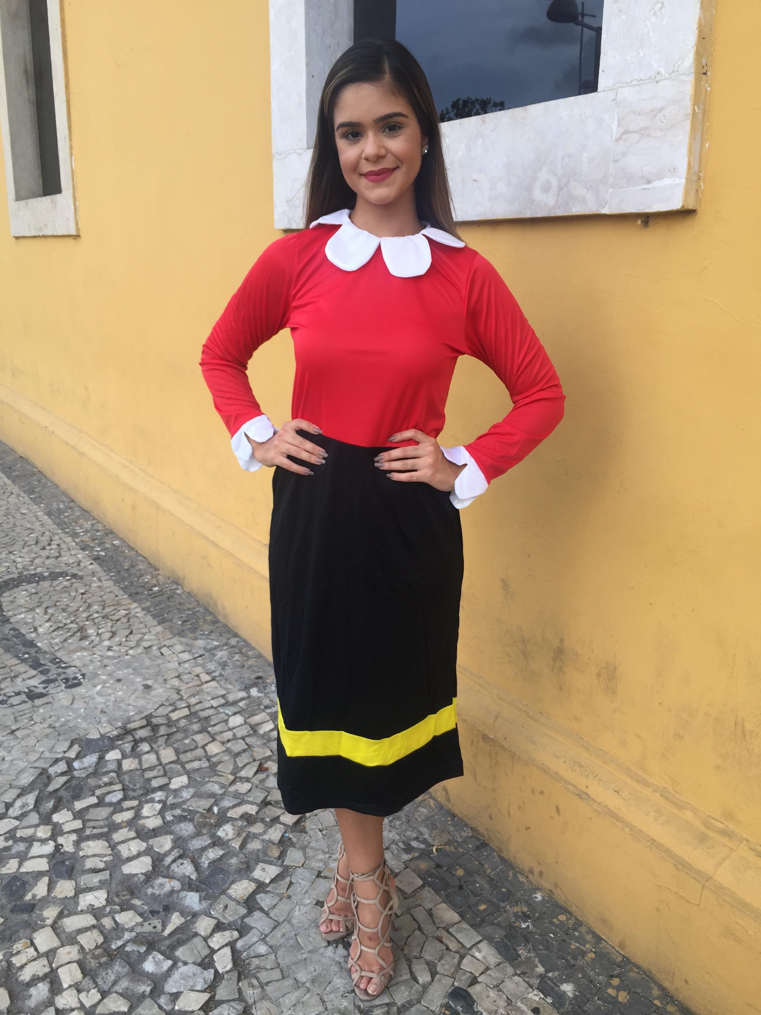 9f66547a6 Fantasia de Olivia disponível para venda ou aluguel na Loja Fantasias  Recife - Crédito: Thayse