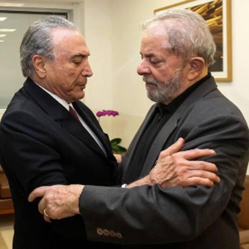 Temer e Lula(Reproduçao)