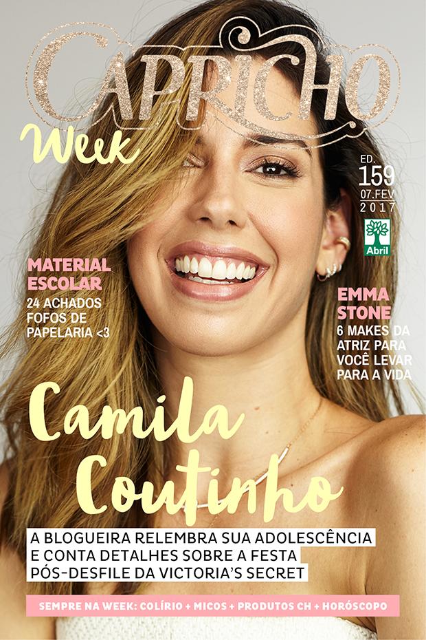 Muitas vezes Camila Coutinho está na capa da Capricho | João Alberto Blog CZ81