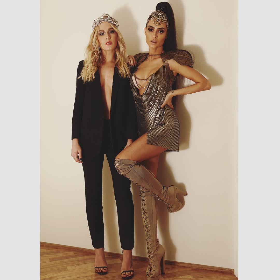 Fiorella Matheis e Thaila Ayala - Crédito: Reprodução/Instagram