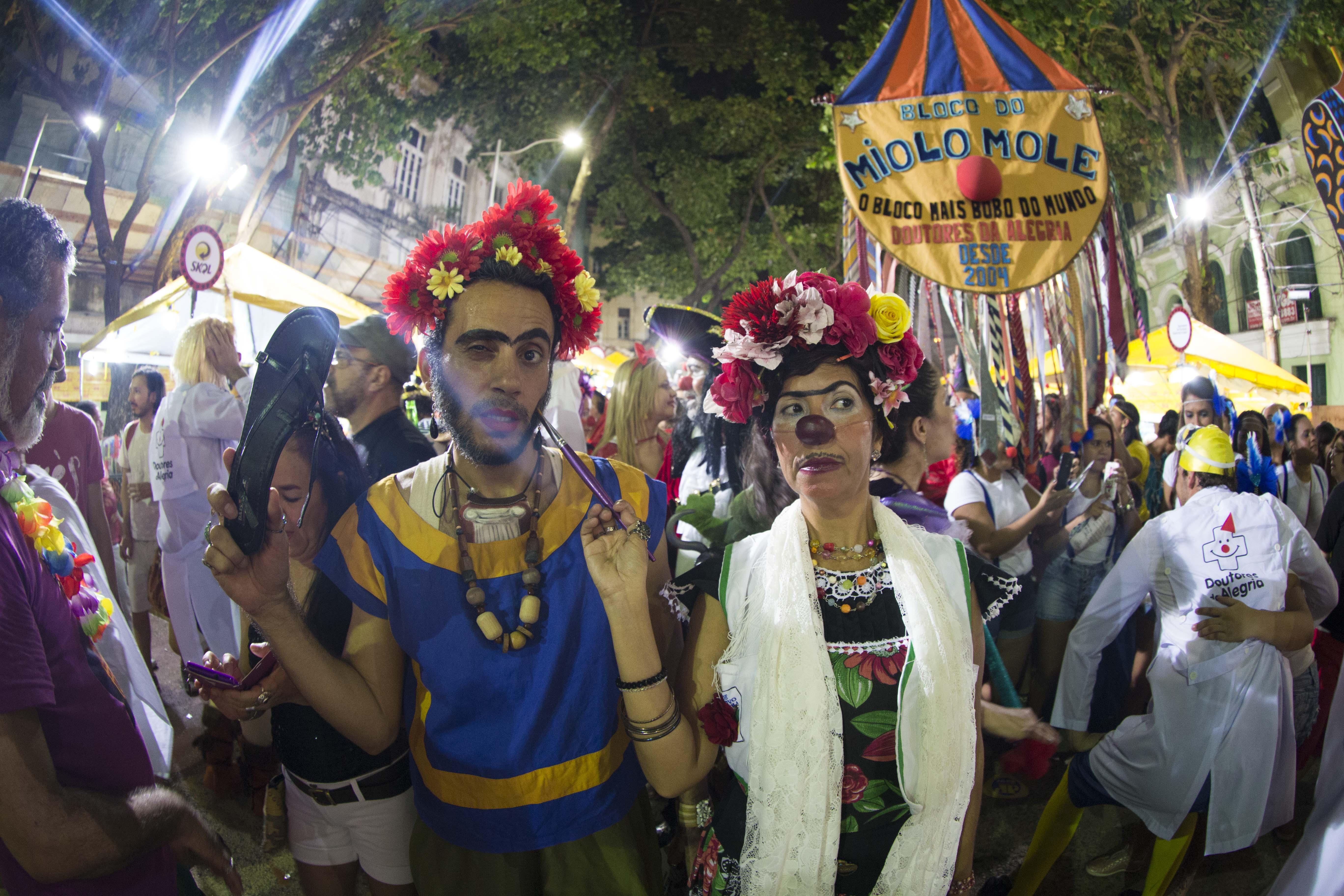 Bloco do Miolo Mole - Crédito: Lana Pinho/Divulgação