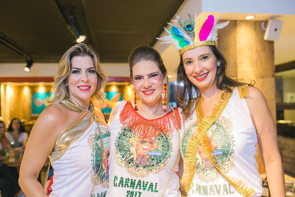 Dilce Pontes, Cristina Tavares de Melo, Carmen Didier - Crédito: Gabi Vittória/Divulgação