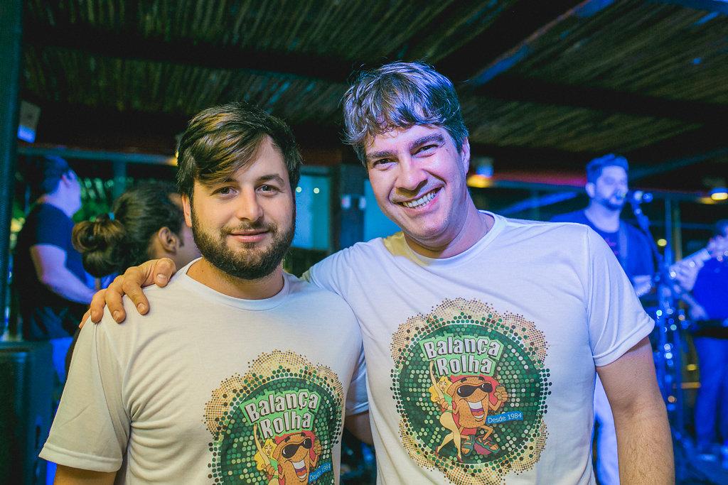 Rodrigo Carvalheira e Elias Cabuzz - Crédito: Gabi Vittória/Divulgação