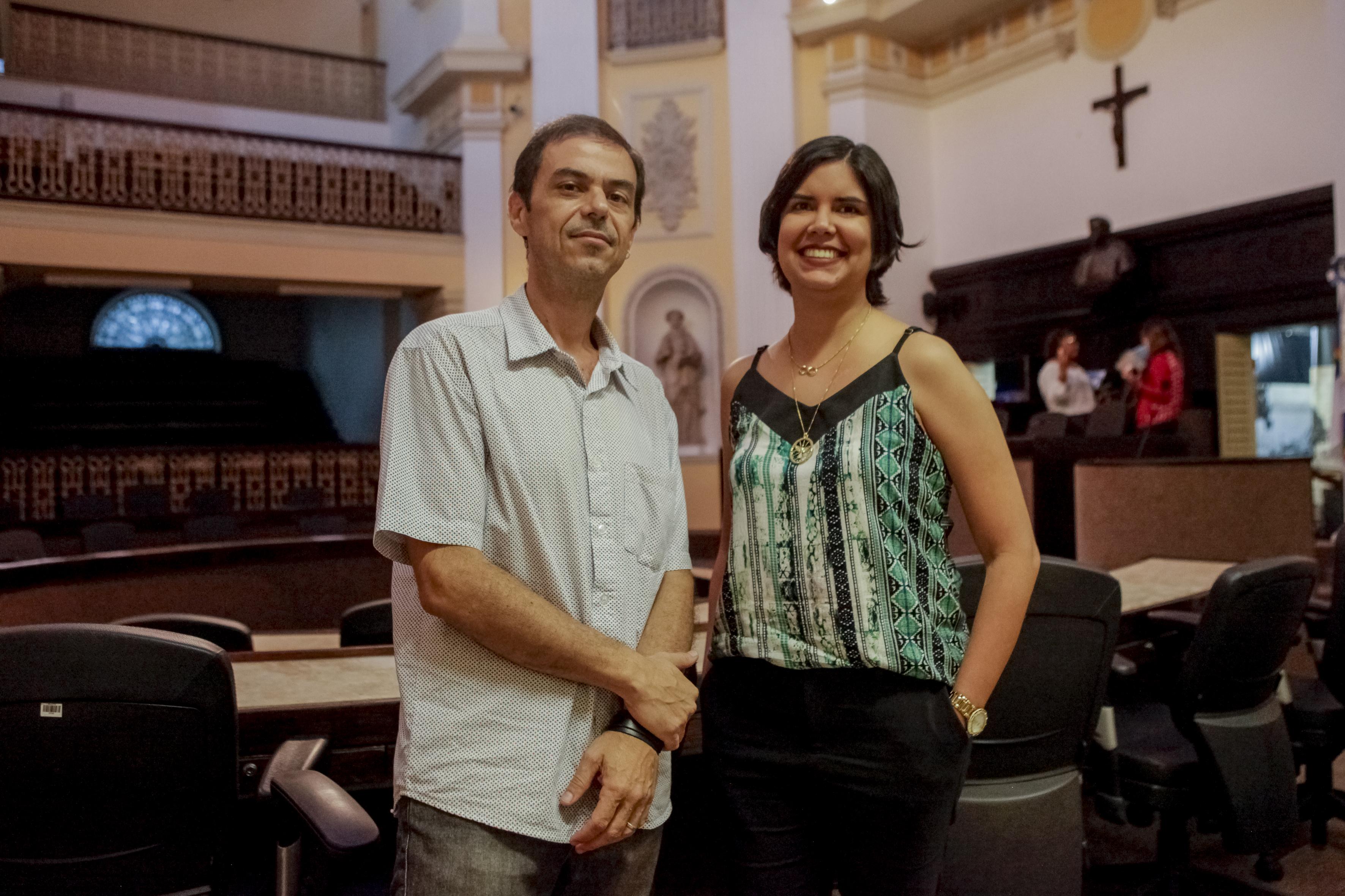 Cynthia Morato e Sérgio Montenegro Filho - Crédito: Divulgação
