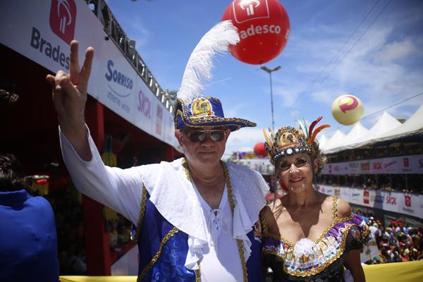 Romulo Menezes e Ana Nery  - Crédito: Anderson Freire/DP