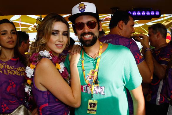 Jorge Peixoto e Bruna Monteiro.- Credito: Rafael Martins/ Esp. DP
