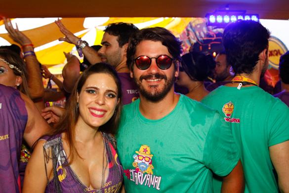 Kadito Rodrigues e Lais Rodrigues- Credito: Rafael Martins/ Esp. DP