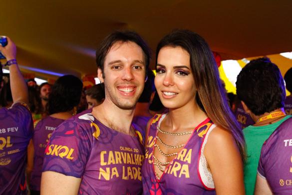 Filipe e Tenório e Camila Pereira- Credito: Rafael Martins/ Esp. DP