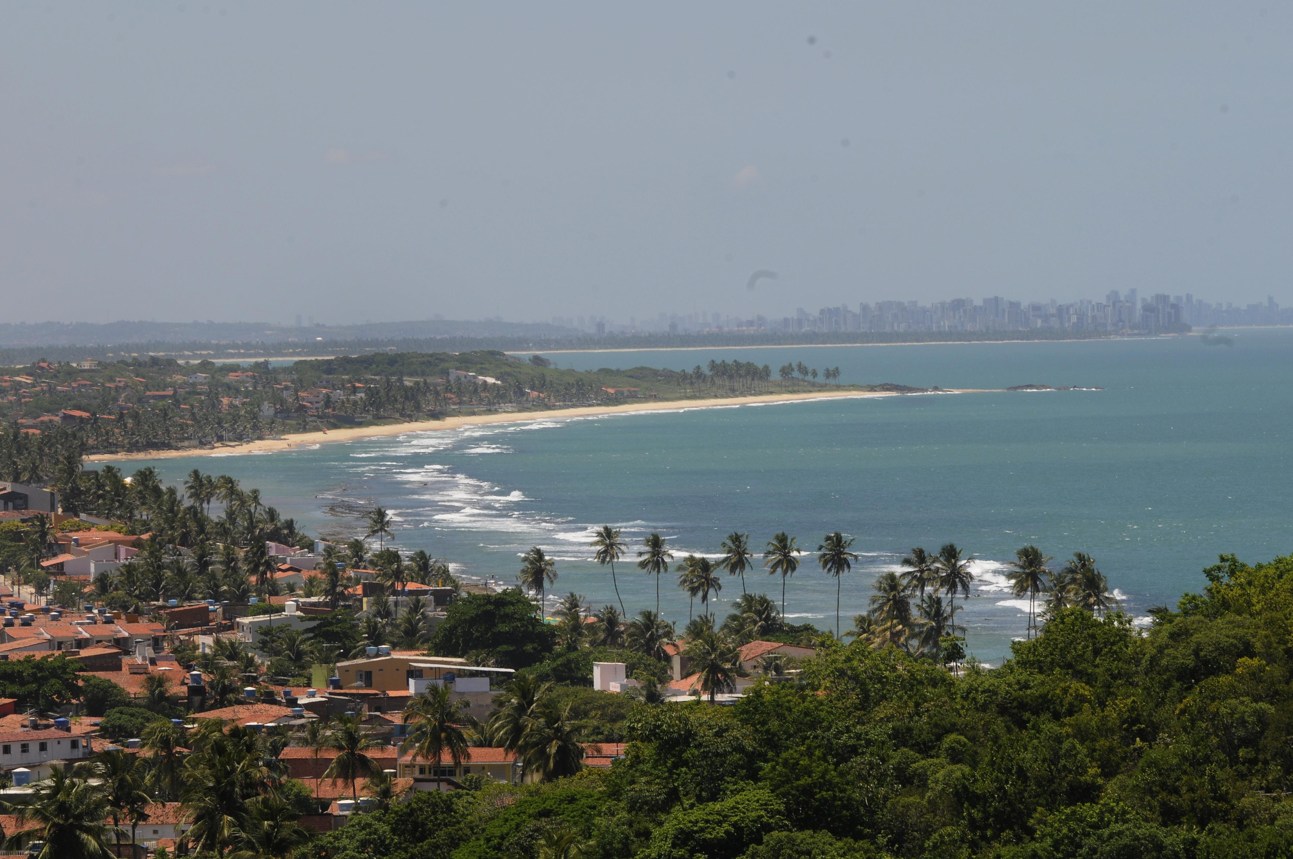 Vista da praia de Gaibú - Teresa Maia/DP/