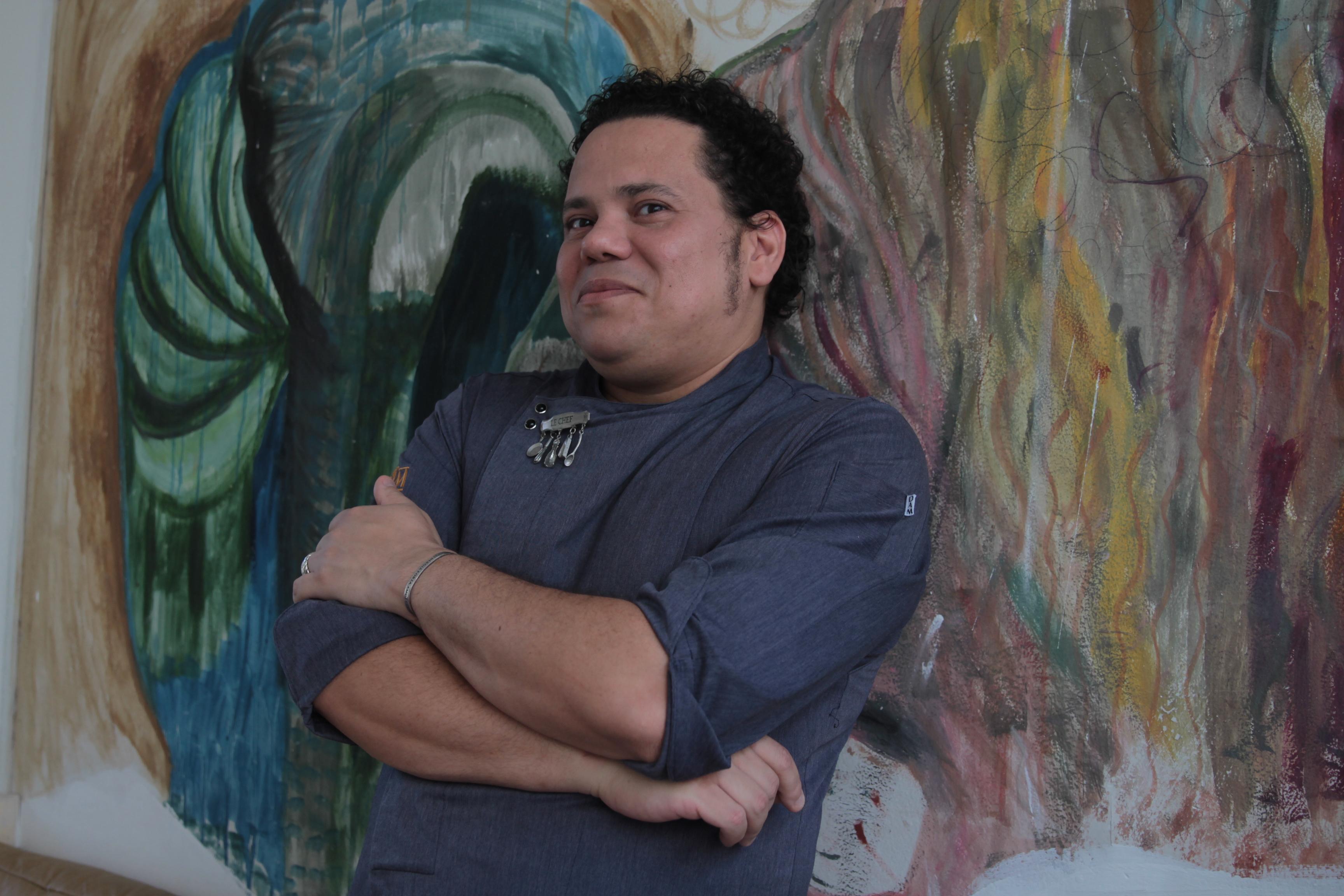 Chef Leandro Ricardo - Crédito: Roberto Ramos/DP