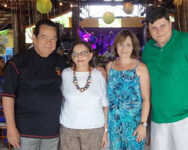 Josias e Tilde Albuquerque, Cleide e Rodrigo Moreira. Credito Fernando Machado