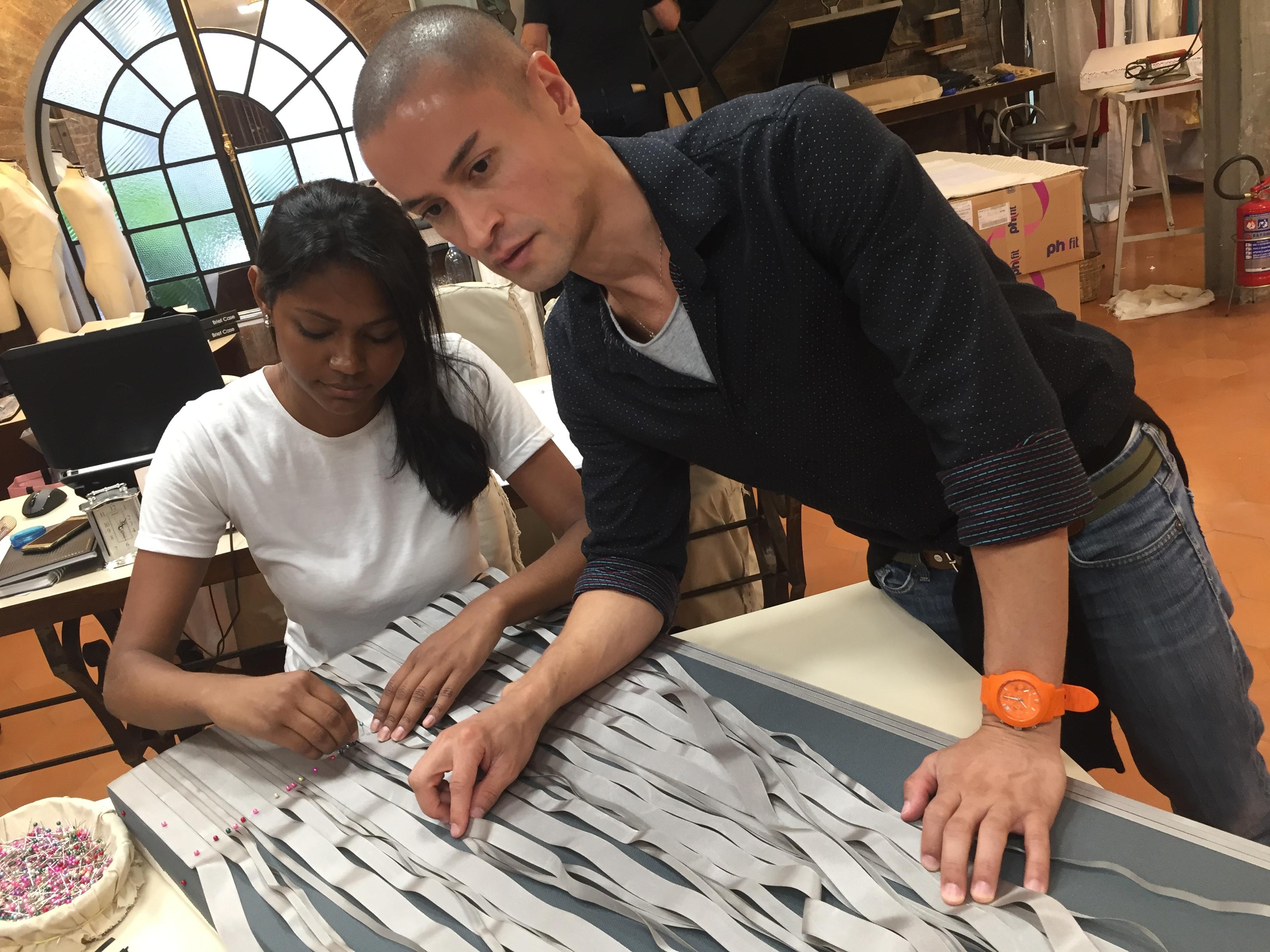 Dinho Batista assina a sua primeira coleção no SPFW - Crédito: Thayse Boldrini/DP