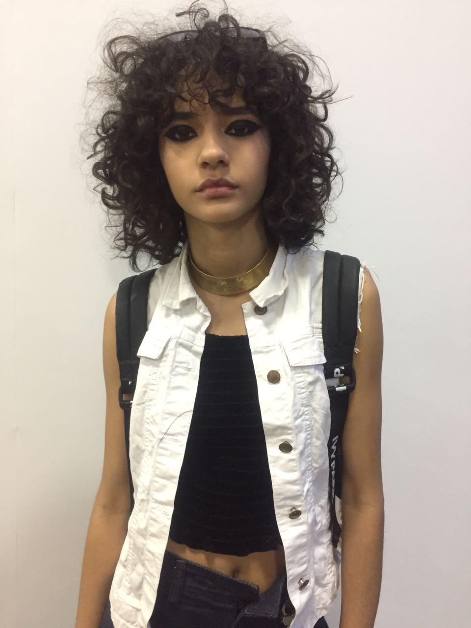 Fernanda Oliveira é destaque nas passarelas do SPFW - Crédito: Thayse Boldrini/DP