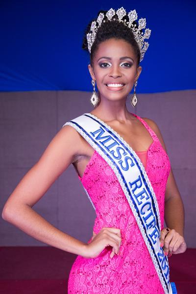 Keron Linn é a nova Miss Recife - Crédito: Divulgação