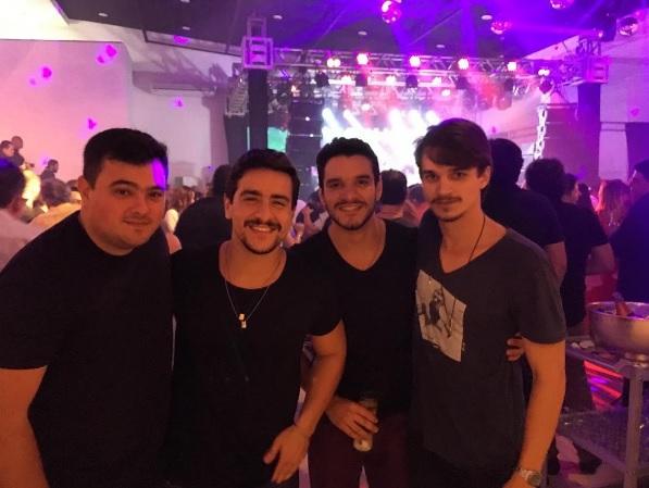 Dede Saraiva, Valmir Wanderley, Thiago Wanderley e Victor Carvalheira - Crédito: Reprodução/Instagram