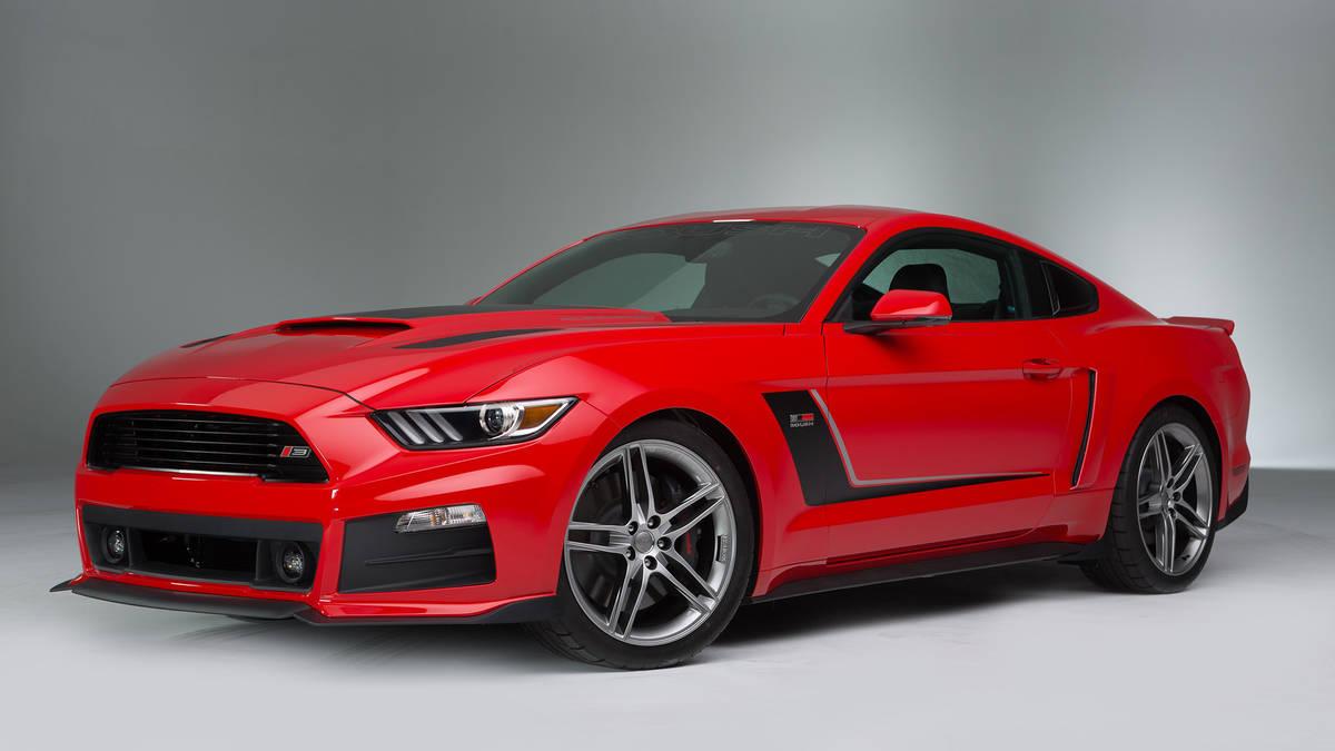 Mustang Roush- Crédito: Reprodução/Divulgação