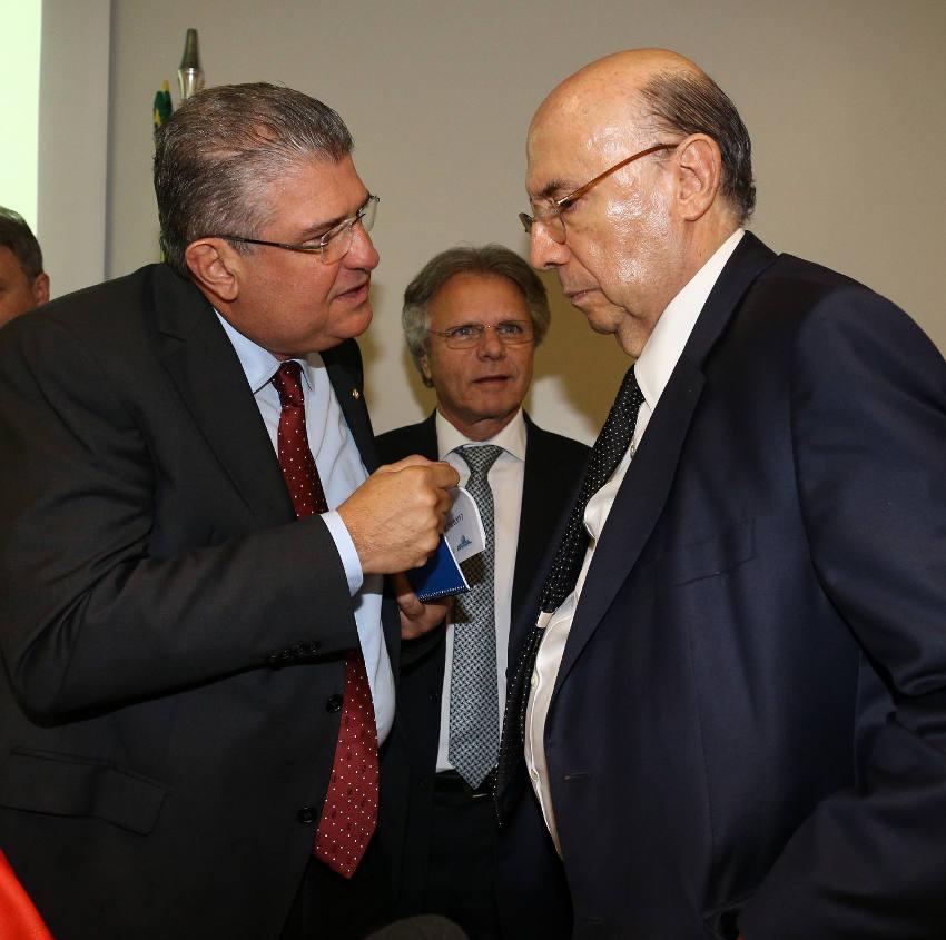 Deputado Guilherme e Ministro Meireles