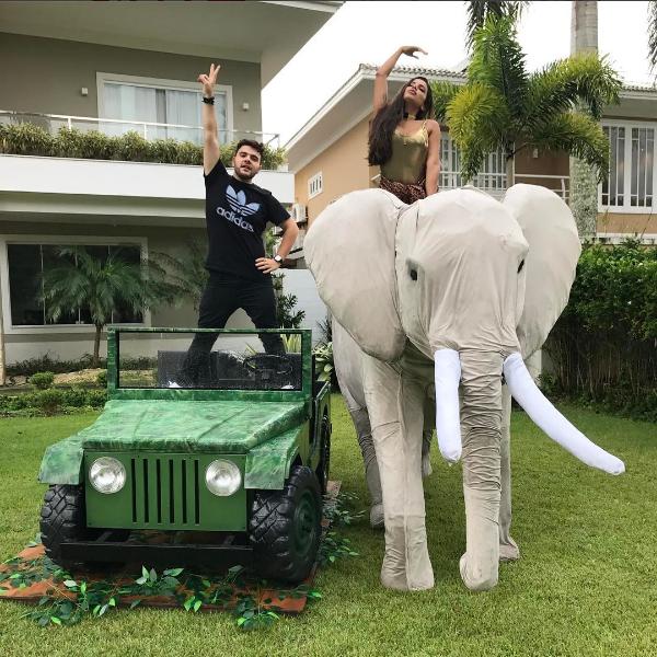 Nana Rude e Anitta - Crédito: Reprodução/Instagram