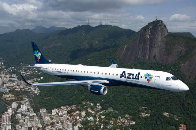 Crédito: Divulgação/Azul Linhas Aereas Embraer