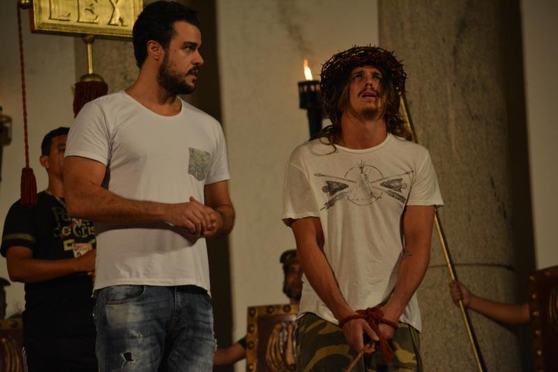 Joaquim Lopes e Rômulo Neto - Crédito: Divulgação/Paixão de Cristo de Nova Jerusalém