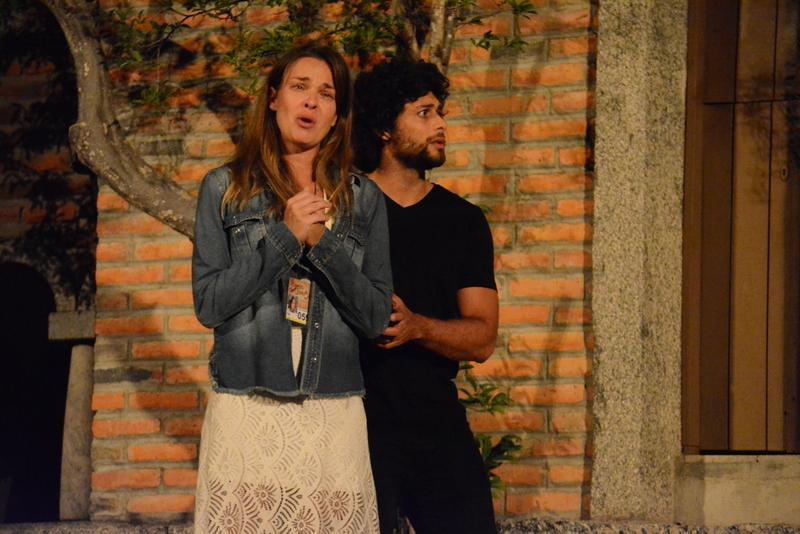 Letícia Birkheuer e Jesus Luz - Crédito: Divulgação/Paixão de Cristo de Nova Jerusalém