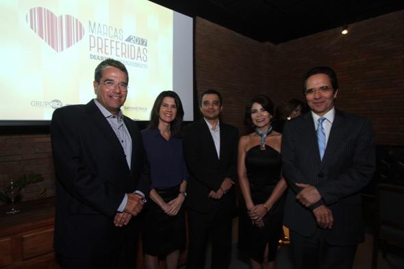 Alexandre Rands, Brites Caminha, Luiz Mendes, Kátia Tavares e Maurício Rands
