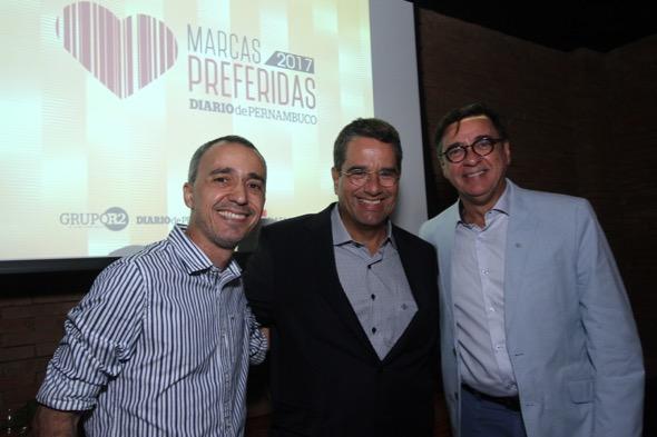 Fred Teixeira, Alexandre Rands e Angelo Melo
