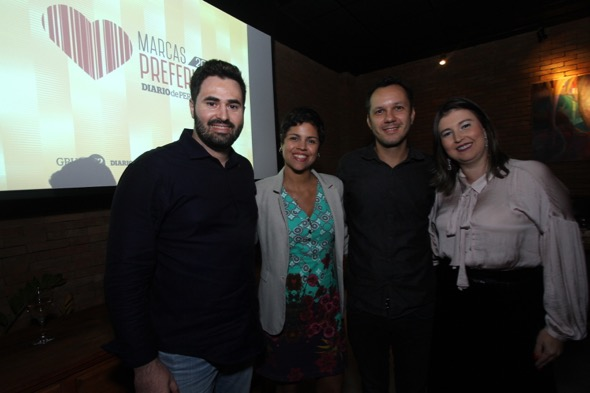 Márcio Quirino, Sissy Martins, Lucídio Leão e Tarciana Marques, Agência Reserva
