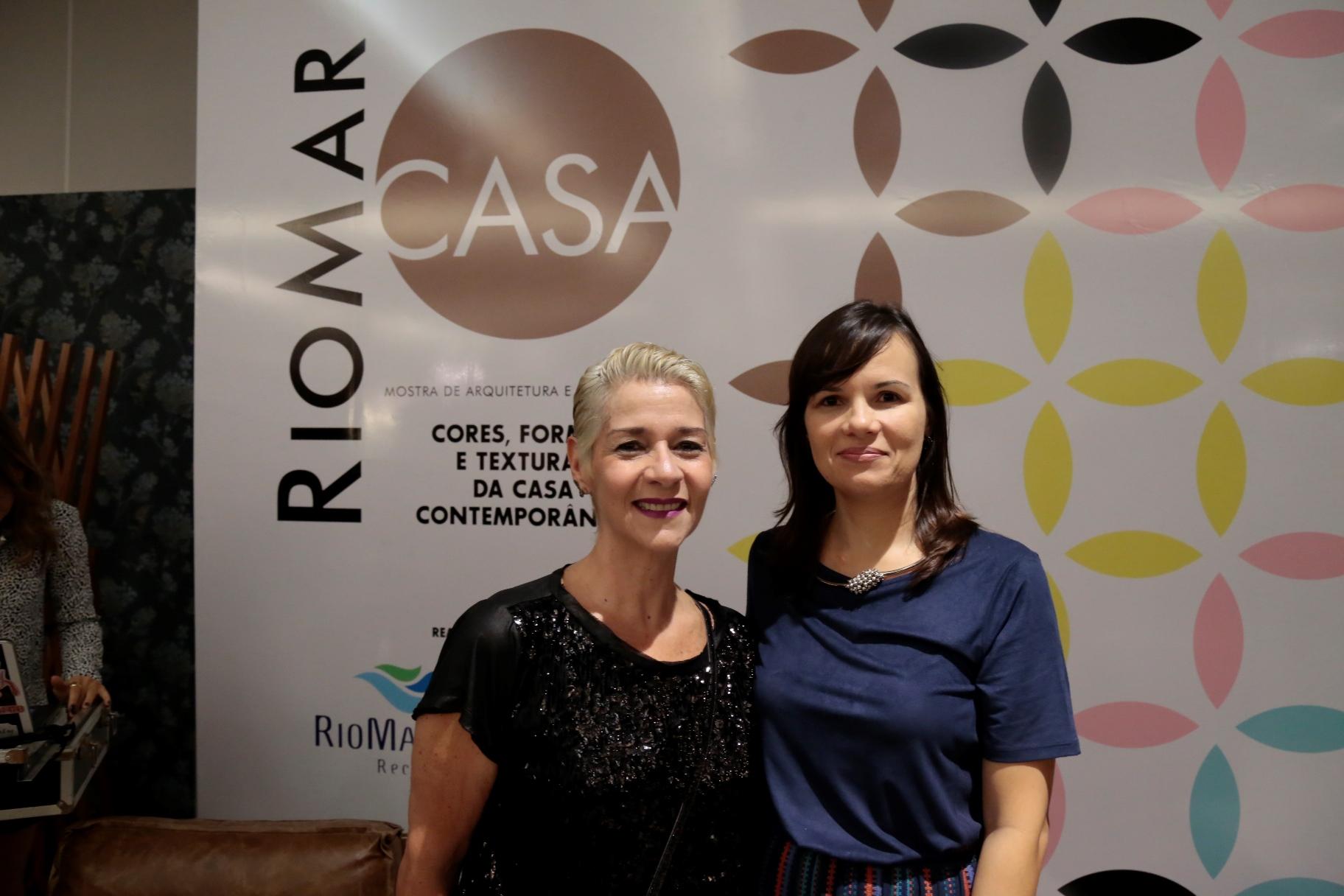 Carla Guerra e Denielly Halinski, do RioMar - Crédito: Gleyson Ramos/Carlota Comunicação/Divulgação