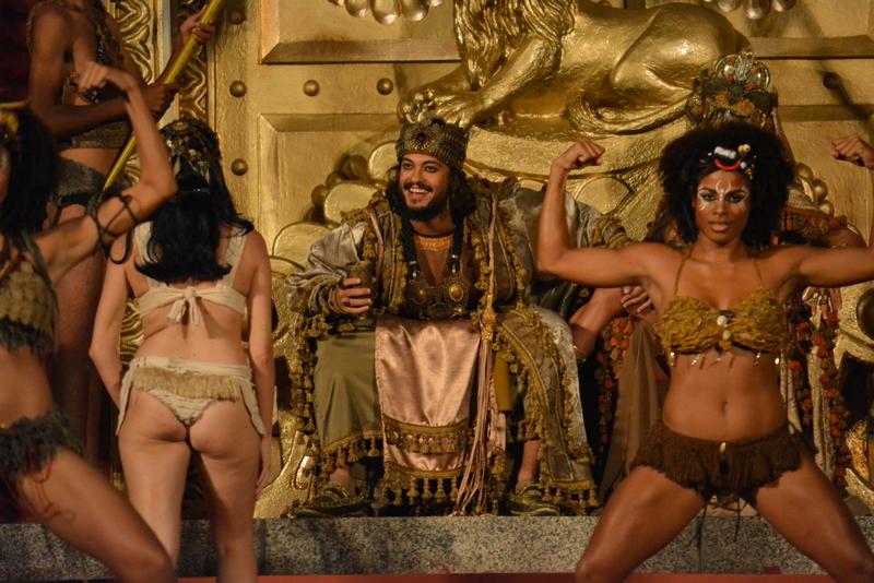 Raphael Vianna no papel de Herodes -  Crédito: Felipe Souto Maior/Divulgação