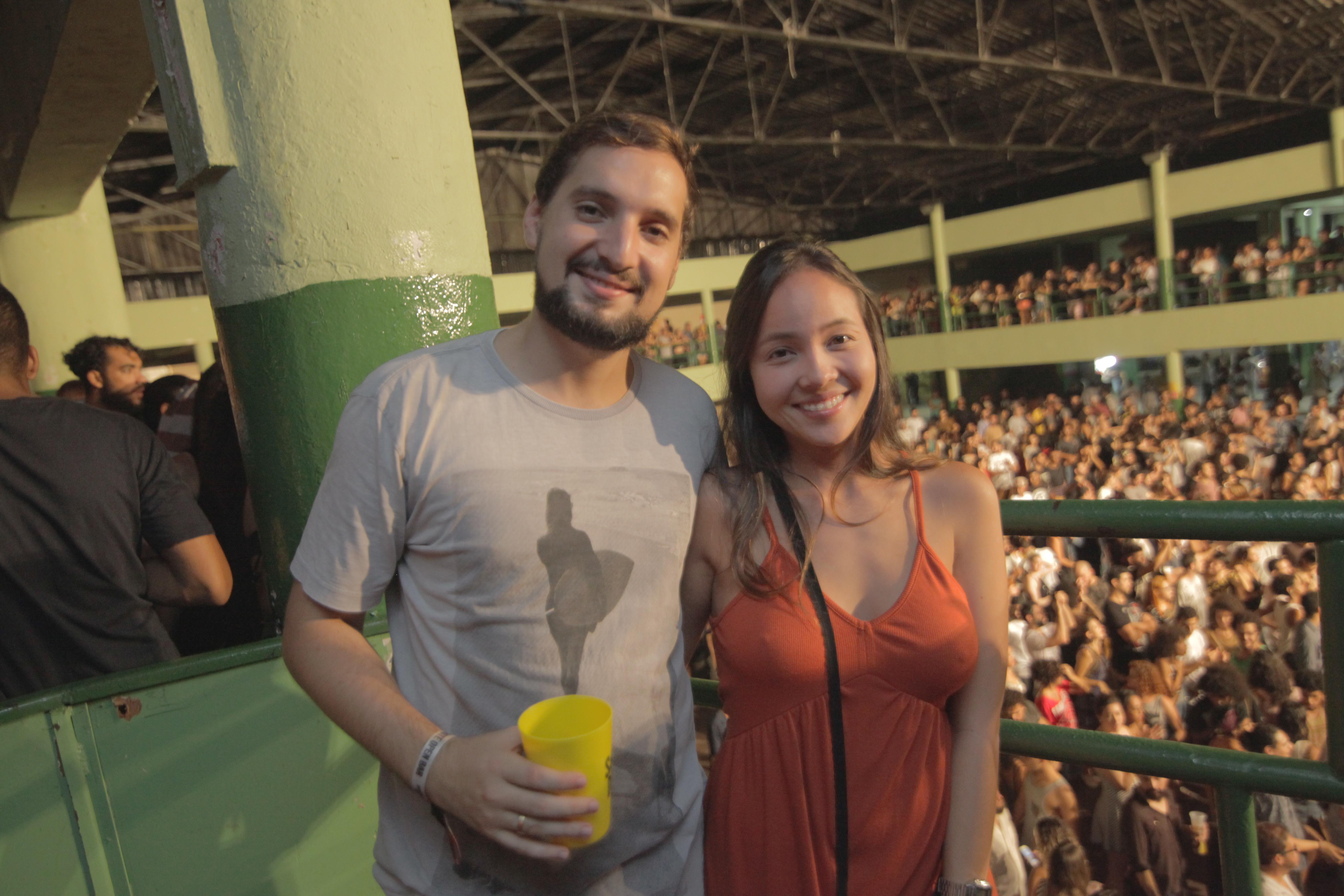 João Machado e Cynthia Baba - Crédito: Celo Silva/Divulgação