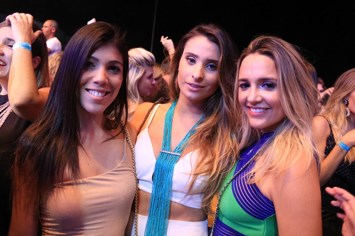 Maria Eduarda Beltrão, Juliana Markan e Kika Leite -  Crédito: Luiz Fabiano/Divulgação