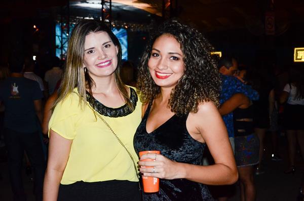 Monique Bandeira e Anne Caroline - Crédito: Wellington Silva/Divulgação