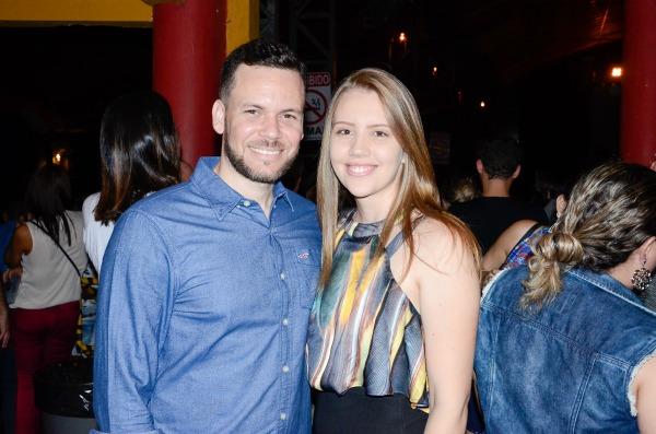 Pedro Carvalho e Marcela Valença - Crédito: Wellington Silva/Divulgação