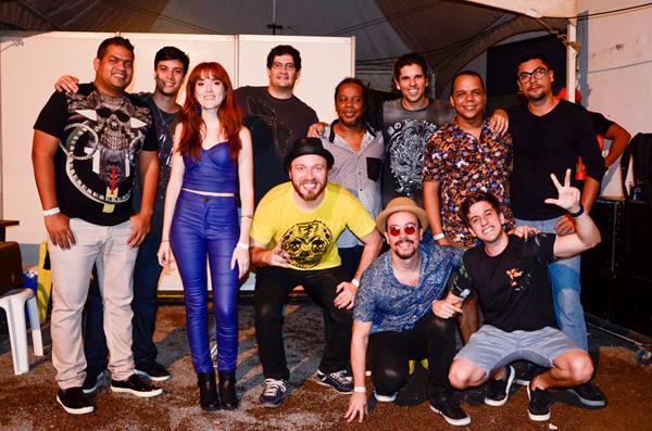 Produtores e banda Bailinho Maravilha - Crédito: Wellington Silva/Divulgação