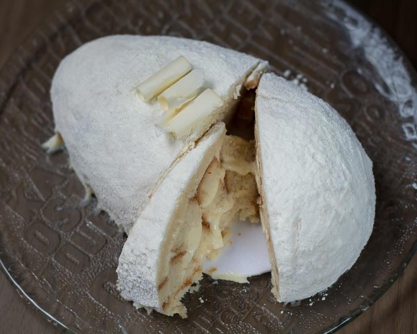 O famoso ovo de corte sabor Leite Ninho - Crédito: Virgínia Melo/Divulgação