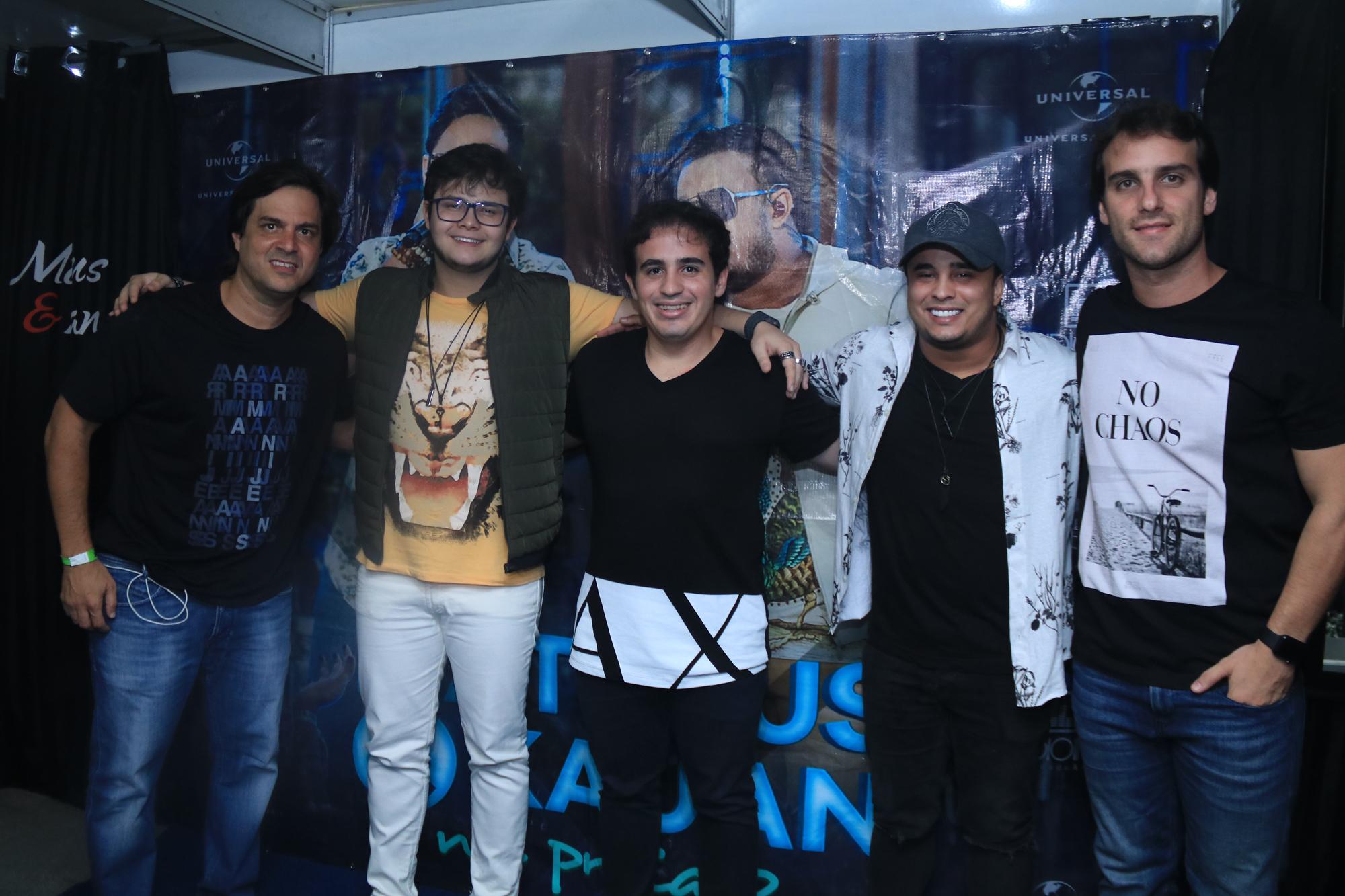 Bruno Rego, Matheus, Andrezinho Dantas, Kauan e Bruno Ramos - Crédito: Luiz Fabiano/Divulgação