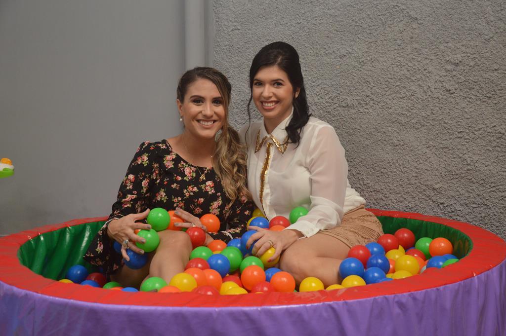 Vidiane Pinheiro e Amanda Freire - Crédito: Divulgação