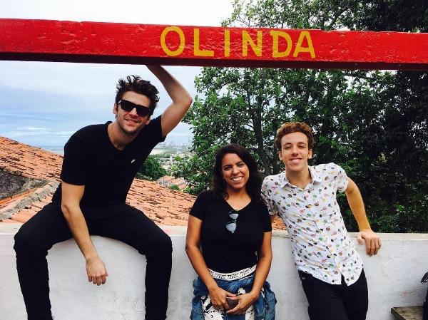 Gil Coelho, Anita Barbosa e João Côrtes - Crédito: Reprodução/Instagram