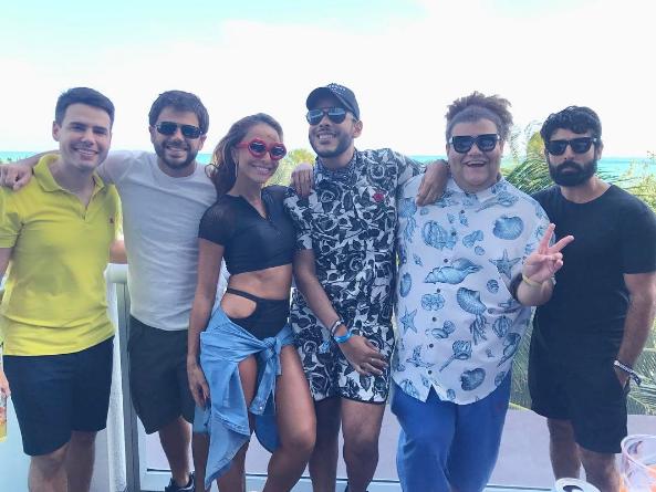 Sabrina Sato, Duda Nagle, Hugo Gloss, Gominho e Luiz Bacci - Crédito: Reprodução/Instagram/hugogloss