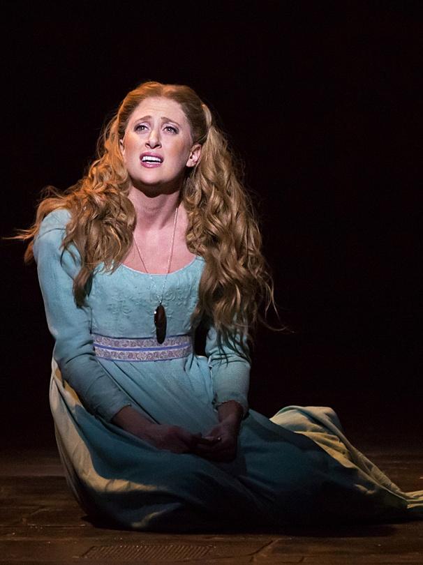Caissie Levy vai interpretar a princesa Elsa - Crédito: Broadway in New Orleans/Divulgação