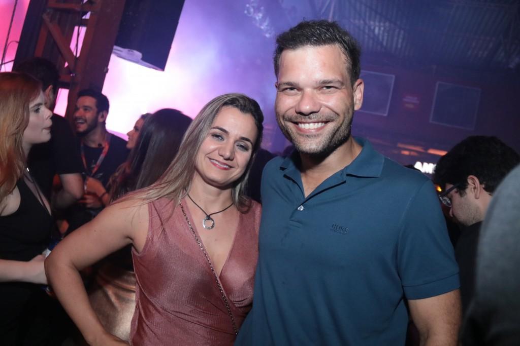 Juliana Cavalcanti e Bruno Cezar - Crédito: Luiz Fabiano