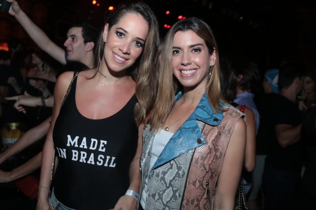 Renata Barroso e Camila Coutinho - Crédito: Luiz Fabiano