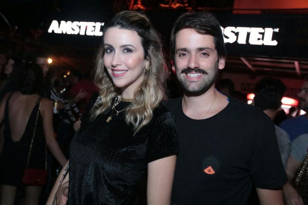 Bruna Monteiro e Jorge Peixoto - Crédito: Luiz Fabiano