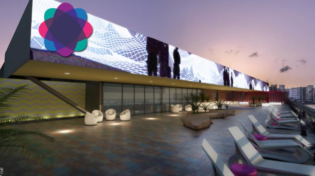 O coworking vai ocupar todo o terraço do shopping - Crédito: Divulgação